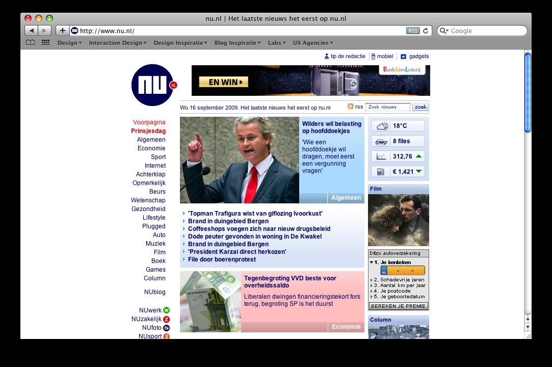Wet van de eenvoud Nu.nl