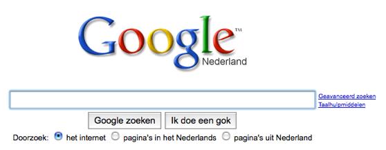 Google-doe-een-gok